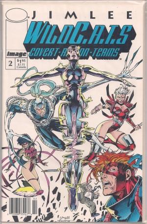 Wildcats 1992 #2 SECOND PRINT – a