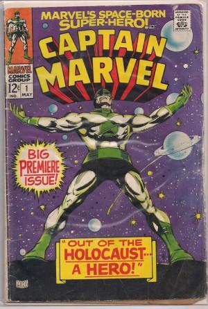 Captain Marvel #1 – a