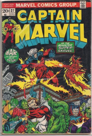 Captain Marvel #27 – a