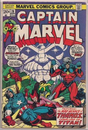 Captain Marvel #28 – a