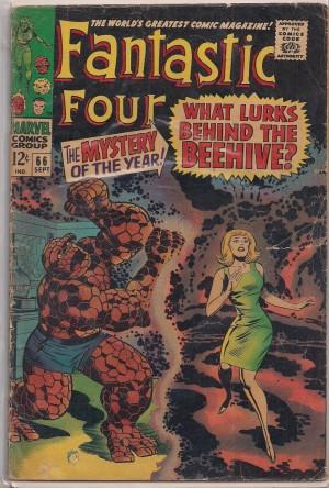 Fantastic Four #66 – a