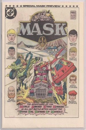 MASK 1985 Preview – a