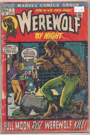 Werewolf By Night #1 – a