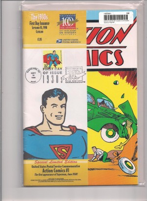 Action Comics #1 Reprint – USPS – a NM