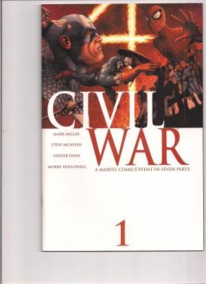 Civil War 2006 #1 – a