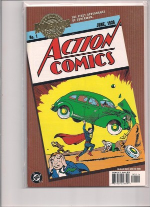 DC Comics Mellennium Action Comics #1 – a