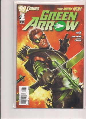 Green Arrow 2011 #1 – a