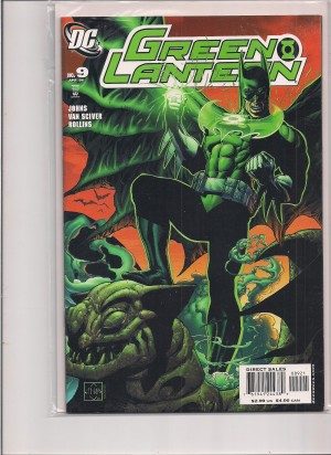 Green Lantern #9 Batman Variant – a