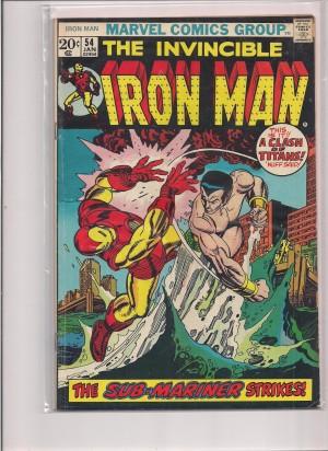Iron Man #54 – a