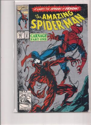 Spiderman #361 SECOND Print – 11-24-14