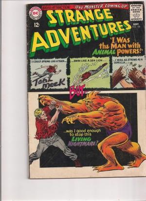 Strange Adventures #180 = SOLD
