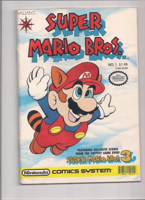 Super Mario Brothers 1990 #1 – a