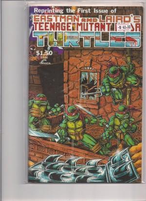 TMNT 1985 #1 Fourth Print – a