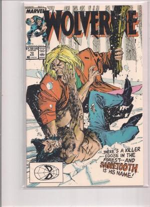 Wolverine 1989 #10 – a