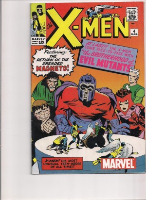 X-Men #4 Reprint – 10-31-14
