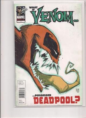 What If Venom Deadpool #1 – b – VG