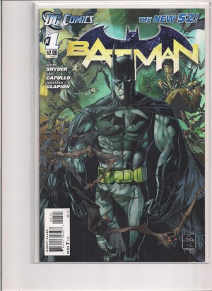Batman 2011 #1b 1st print – a