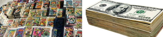 We Buy Comic Collections!