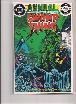 Swamp Thing Annual #2 – a