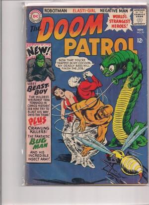 Doom Patrol #99 – a