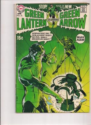 Green Lantern #76 – Front – a