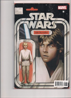 Star Wars 2015 #1 Action Figure Cover – a