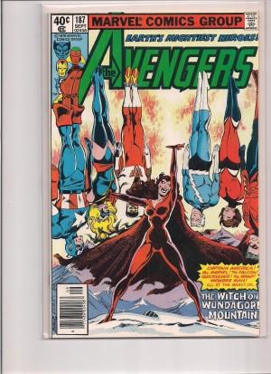 Avengers #187 – 3-24-15