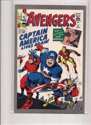 Avengers #4 JC Penney Reprint – a
