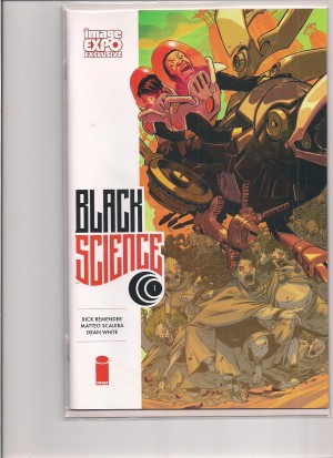 Black Science 2013 #1 Image Expo Variant – a
