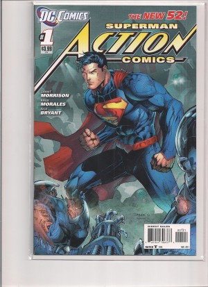 Action Comics 2011 #1 – Variant