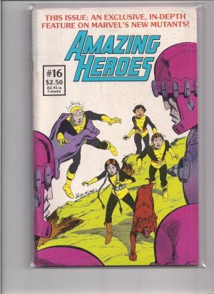 Amazing Heroes #16 – c – 5-20-15