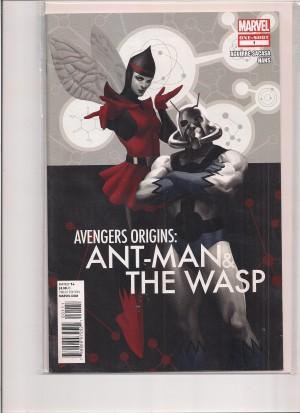 Avengers Origins Antman Wasp #1 – d1