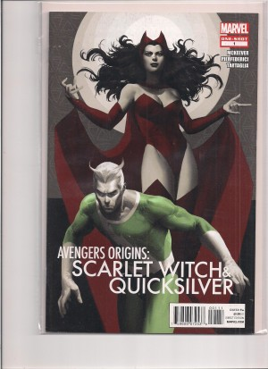 Avengers Origins Scarlet Witch Quicksilver #1 – a