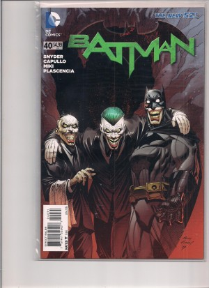 Batman 2015 #40 Variant