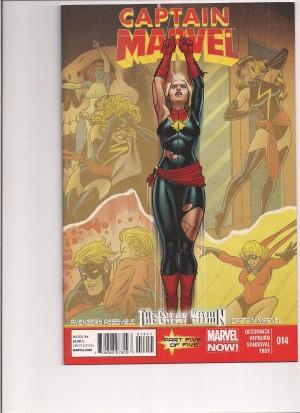 Captain Marvel #14 – a