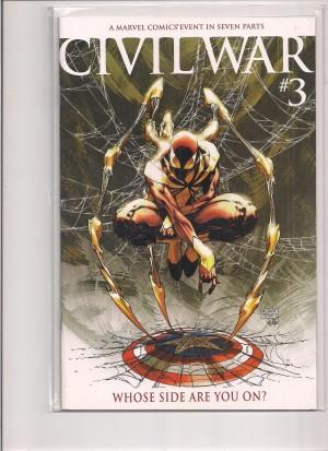 Civil War 2006 #3 Variant – a