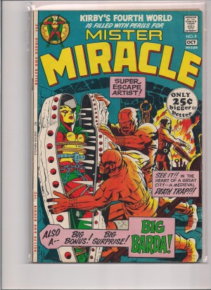 Mister Miracle #4 – a