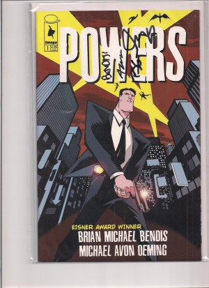 Powers #1 2000 – Dual Signed