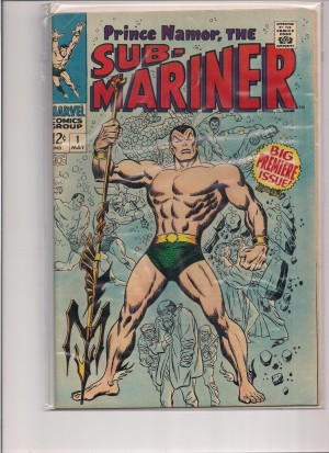 SubMariner 1968 #1 – fornt – a