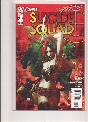 Suicide Squad 2001 #1 2nd Print – a
