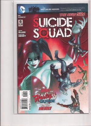 Suicide Squad 2011 #6 2nd Print – a