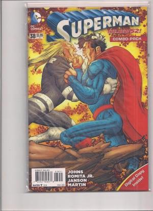Superman #38 POlybag Combo – a