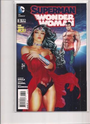 Superman Wonder Woman #3 Variant – a
