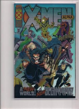 X-Men Alpha #1 Autographed! – a