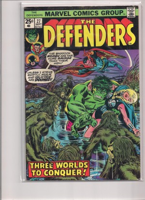 Defenders #27 MJ Variant – a