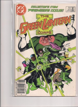 Green Lantern Corps #201 – b
