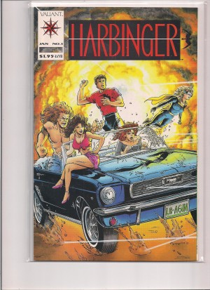Harbinger 1992 #1 – No Coupon – 6-30-15