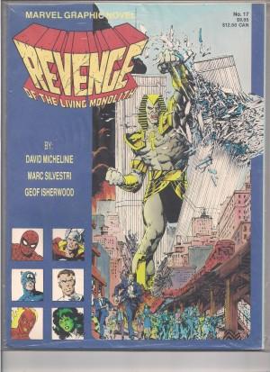 Marvel Graphic Novel #17 – a