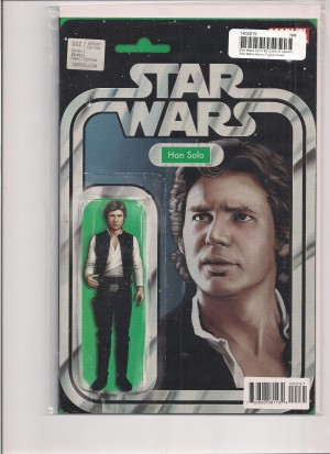 Star Wars #2 Solo Action Figure Variant – b
