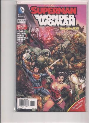 Superman Wonder Woman 2015 #17 – 5-16-15